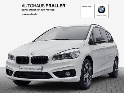 gebraucht BMW 218 Gran Tourer i Sport Line LED RFK Navi Shz