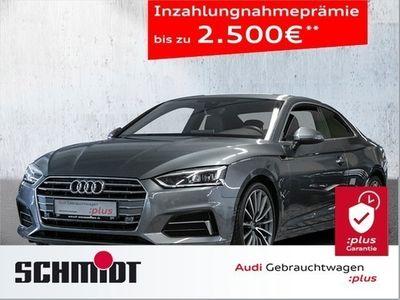 gebraucht Audi A5 Coupe 40 TDI Sport LED, Parkass., Navi+, Alc./Leder, Virt. Cockp., LM 19, Ass. Stadt