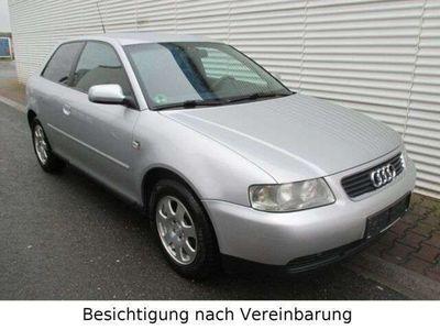 gebraucht Audi A3 1.6 Attraction,Klimaanlage,Alufelgen