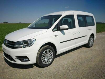 gebraucht VW Caddy Maxi 2.0TDi Trendline 7Sitzer Climatronic Navi GRA