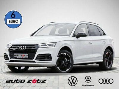 gebraucht Audi Q5 sport 50 TDI quattro Navi, 3x Sline, Optik schw