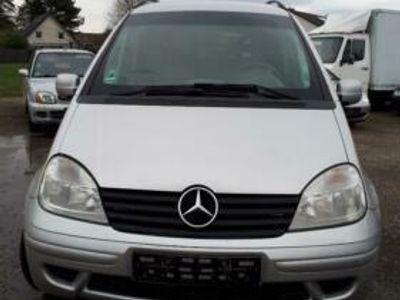 gebraucht Mercedes Vaneo 1,6 Litr Benzin