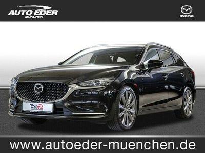 gebraucht Mazda 6 2.5 SKYACTIV-G 194 Sports-Line EURO 6d-TEMP Navi