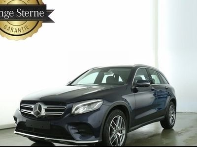 """gebraucht Mercedes GLC250 4M AMG/DISTR/19"""" AMG/LED/SPUR/360°/TOTWI"""
