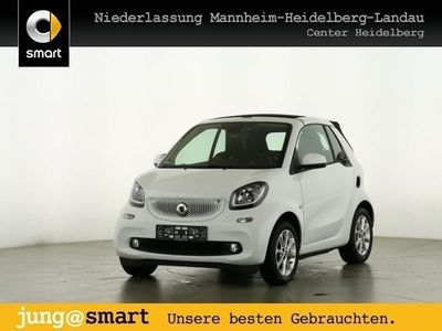 gebraucht Smart ForTwo Cabrio 52kW passion DCT cool&Media SHZ LED