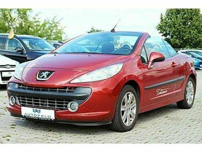 gebraucht Peugeot 207 CC 1.6 Sport/KLIMA/AHK/8FACH/SHZ/PDC/
