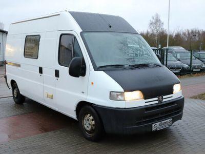 gebraucht Peugeot Boxer 1400 128 PS HDi DPF 320 LH Wohnwagen Stand