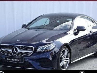 gebraucht Mercedes E300 Coupé 9G+AMG+COMAND+LED+KAMERA+AMBIENT+TOT