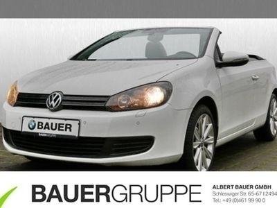 gebraucht VW Golf Cabriolet VI 1.4 TSI Bluetooth Navi Klima