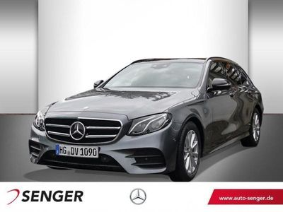 gebraucht Mercedes E220 T-Modell 360Kam PanoSHD COMAND AHK AMG