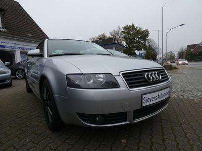gebraucht Audi A4 Cabriolet 2 4 Klima Leder