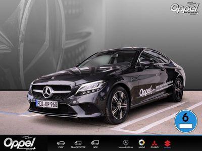 gebraucht Mercedes C220 d Coupé RÜCKFK+LED+KLIMA+ASSISTENZ-PAKET