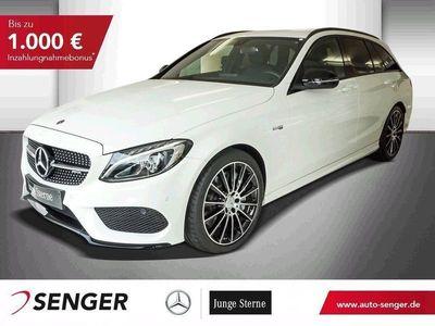 gebraucht Mercedes C43 AMG T AMG 4M+AHK+NIGHT-PAKET+NAVI+SHZ+TEMPOMAT