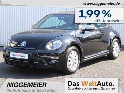 gebraucht VW Beetle Cabriolet 2.0TDI Design Navi, Sitzheizung