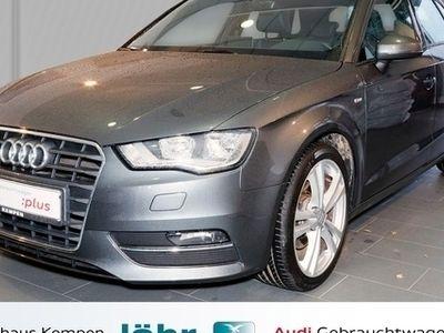 gebraucht Audi A3 Sportback S line 1.4 TFSI Sportpaket Navi