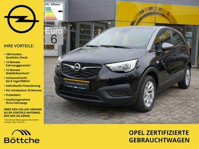gebraucht Opel Crossland X 1.2 Edition PDC SHZ INTELLILINK EU6