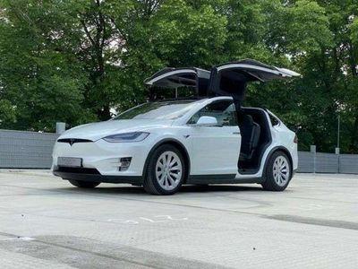 gebraucht Tesla Model X Long Range*FSD*5 Sitze*Luftfederung*LTE*