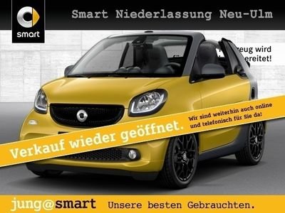gebraucht Smart ForTwo Cabrio 66kW passion BRABUS DCT Sport SHZ