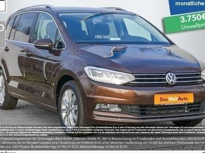 gebraucht VW Touran 2.0 TDI DSG Highline LED Navi Standhzg. GRA
