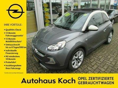 gebraucht Opel Adam Rocks 120 Jahre Faltdach PDC BT SHZ LHZ