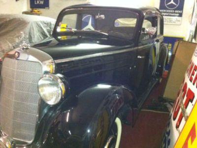 gebraucht Mercedes 170 S-D Diesel, EZ 1954, W136 VIIID, restauriert