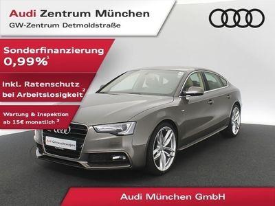 "gebraucht Audi A5 Sportback 2.0 TDI qu. S line 20"" Assistenz Leder Navi Xenon PDCplus S tronic"