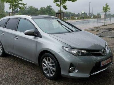 gebraucht Toyota Auris Kombi 1.6 Navi Leder Automatik 1.Hand Top
