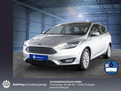 gebraucht Ford Focus Turnier Titanium Navi PDC Sitzhzg