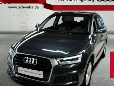 "second-hand Audi Q3 2.0 TDI S line LED AHK NAV GRA PDC EU6 18"""
