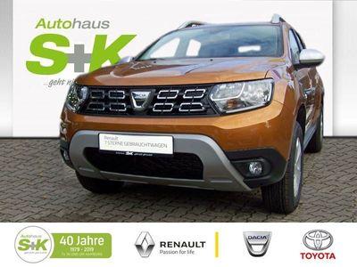 gebraucht Dacia Duster Comfort SCe 115+Kotflügelschutz+Allwetterreifen