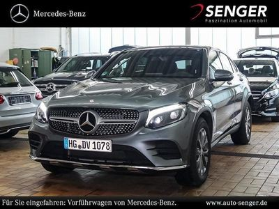 gebraucht Mercedes GLC250 d 4MATIC Coupé AMG line Park-Assist SHD