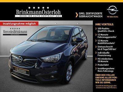 gebraucht Opel Crossland X 1.2 Turbo Edit. Start/StopKlima/NSW