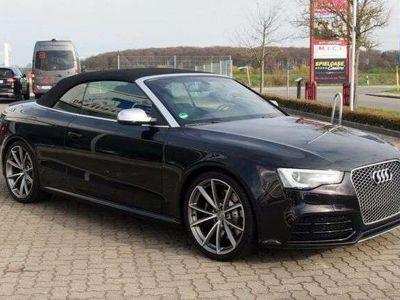 gebraucht Audi RS5 Cabriolet quattro / 1.Hand / Keyless / Navi als Cabrio/Roadster in Pampow