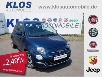 gebraucht Fiat 500 1.2 8V LOUNGE 69PS KLIMAAUTOMATIK APPLE CARP