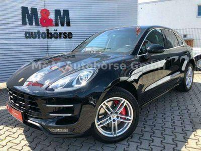 gebraucht Porsche Macan Turbo 1.Hand/ACC/Leder/Memory/Bose