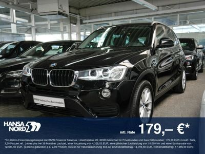 gebraucht BMW X3 xDrive20d LEDER HGSD SKISACK SPORTSITZE