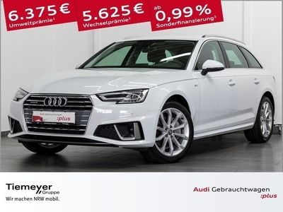 gebraucht Audi A4 Avant 40 TDI Q 2x S LINE AHK ACC VIRTUAL
