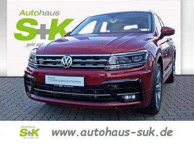 used VW Tiguan 2.0 TSI 4Motion R-Line Sound+Anhängerkup