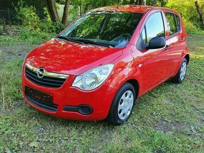 gebraucht Opel Agila 1.0 Eco Flex 2008 Scheckheft Isofix ABS 5Türen TÜV neu