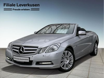 second-hand Mercedes E200 CGI Cabrio BlueEFFICIENCY Automatik Avantgarde