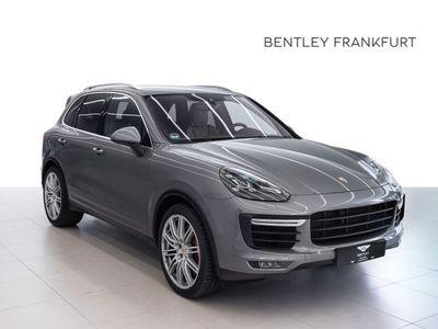 gebraucht Porsche Cayenne Turbo von BENTLEY FRANKFURT Vollleder