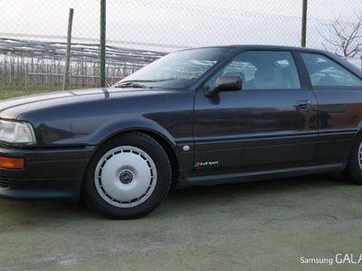 gebraucht Audi Coupé V6 DARK VIOLETT Scheckheft KLIMAAUTOMATIK RS Front