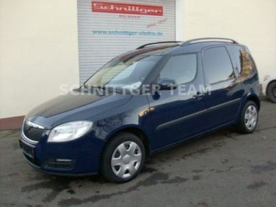 gebraucht Skoda Roomster Style Plus Edition + AHK + Panoramadach