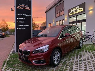 gebraucht BMW 218 d Luxury Line Navi Leder Kamira