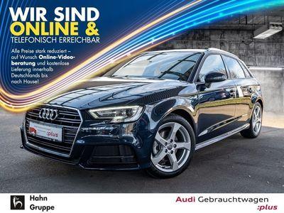 gebraucht Audi A3 Sportback Sport 35TFSI S-line GRA Navi Xen Einparkh Sitzh