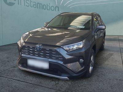 gebraucht Toyota RAV4 RAV 42.5l Hybrid Team Deutschland LED Navi ACC