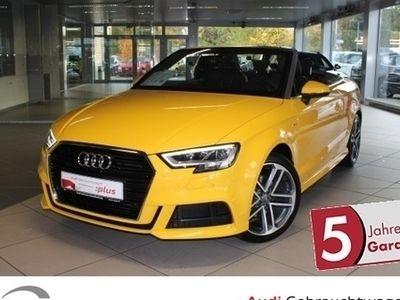 gebraucht Audi A3 Cabriolet 35 TFSI S tronic 3 x S Line, Navi, LED, DAB