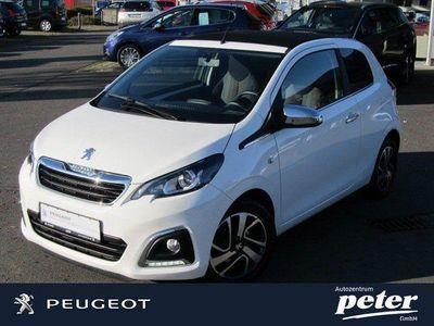 gebraucht Peugeot 108 TOP Allure Klima+SH+EASP+LM+Touchscreen