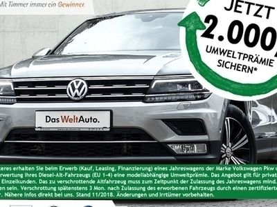 käytetty VW Tiguan 2.0TDI Highline *LED*DCC*STANDHEIZUNG*