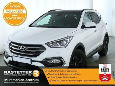 gebraucht Hyundai Santa Fe 2.2 CRDi Aut. 4WD Premium Leder Pano Navi Xenon Kamera eHeck SHZ PDC Klimaaut